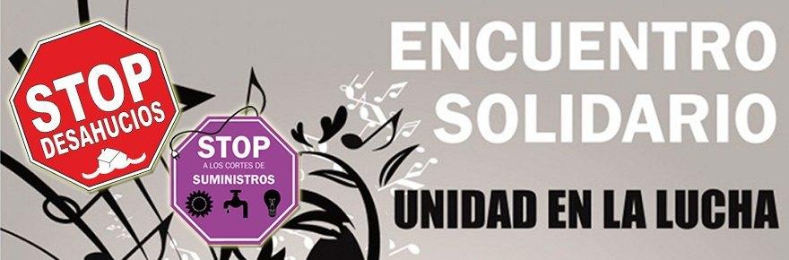 Encuentro Solidario 25 Octubre