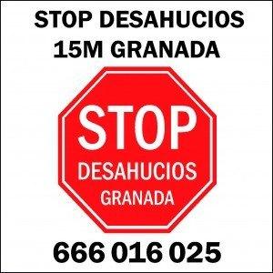 Stop Desahucios Granada 15m 1317x1317