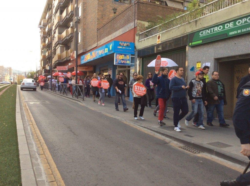 Accion Diputacion Visogsa 3 - Stop Desahucios Granada