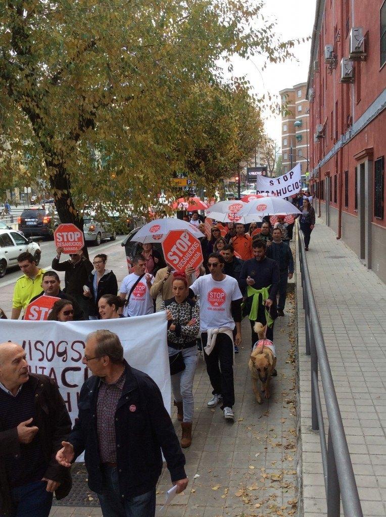Accion Diputacion Visogsa 1 - Stop Desahucios Granada
