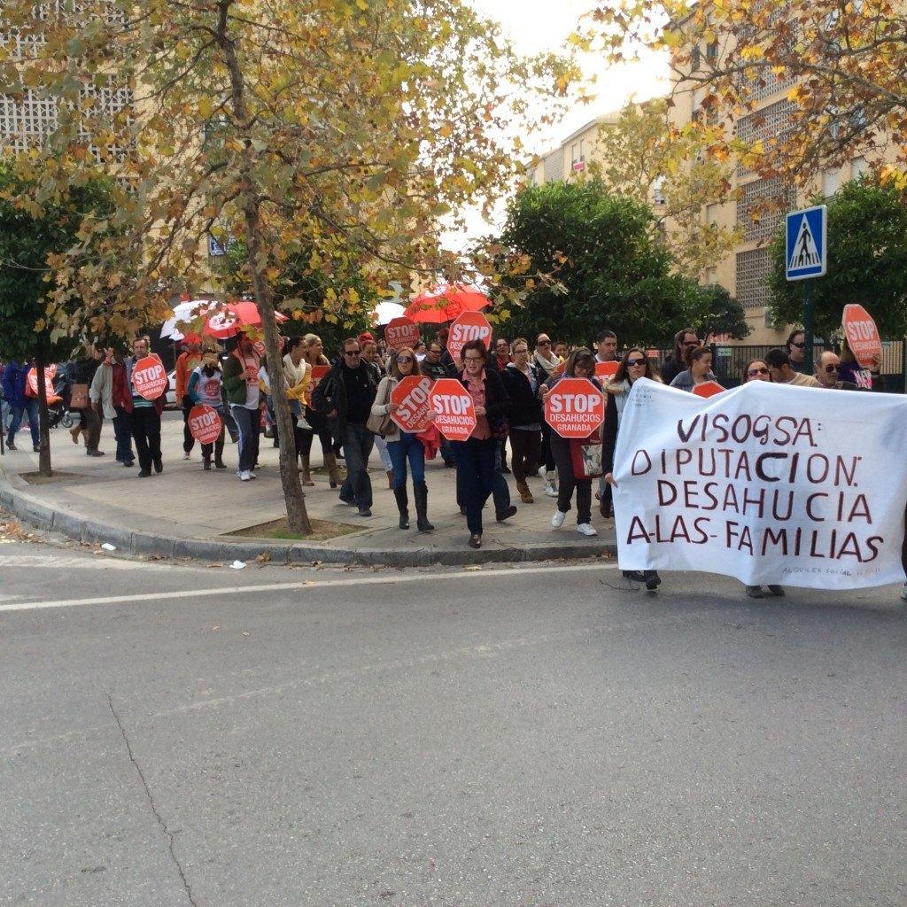 Accion Diputacion Visogsa 7 - Stop Desahucios Granada