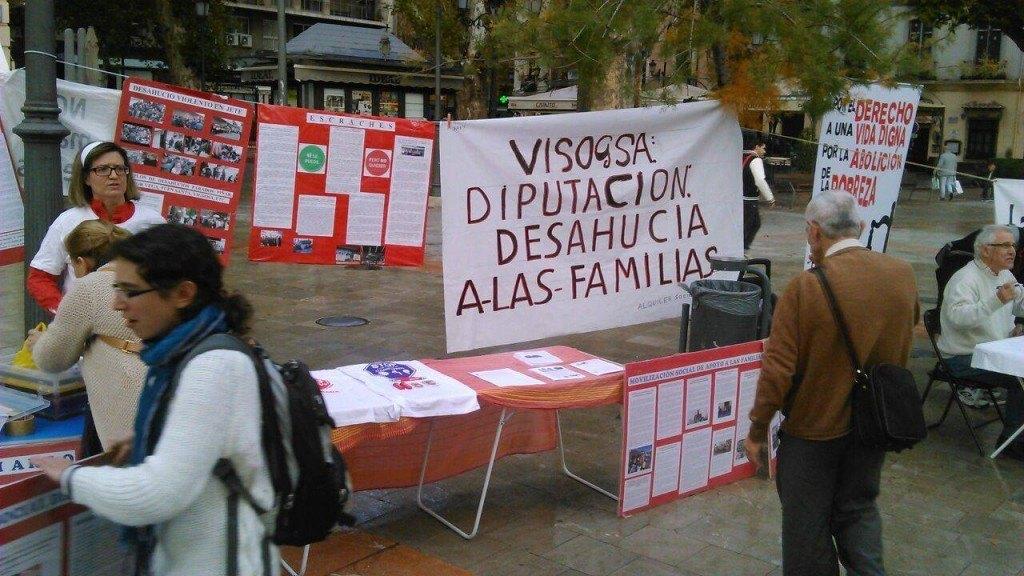 Semana Movilizaciones - Stop Desahucios Granada 15m 2