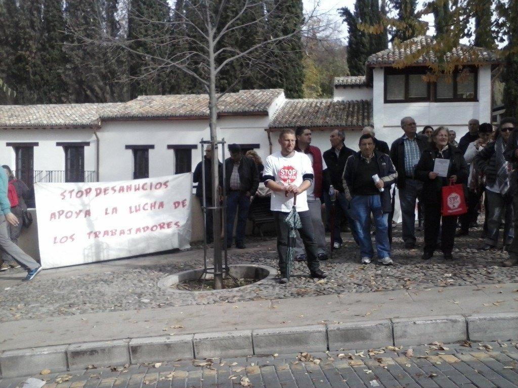 Semana Movilizaciones - Stop Desahucios Granada 15m 6