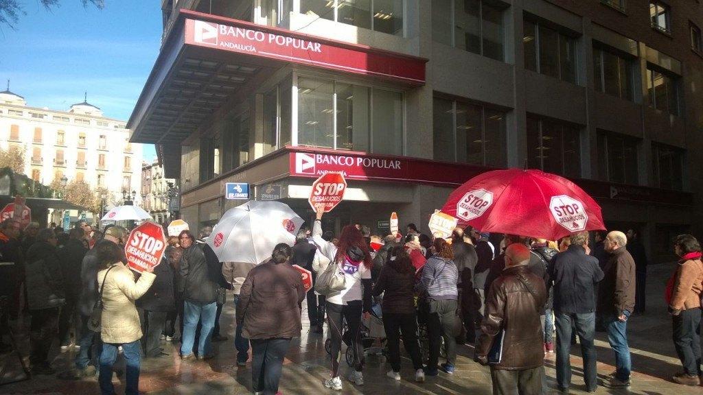 Accion Banco Popular - Stop Desahucios Granada 15M 4