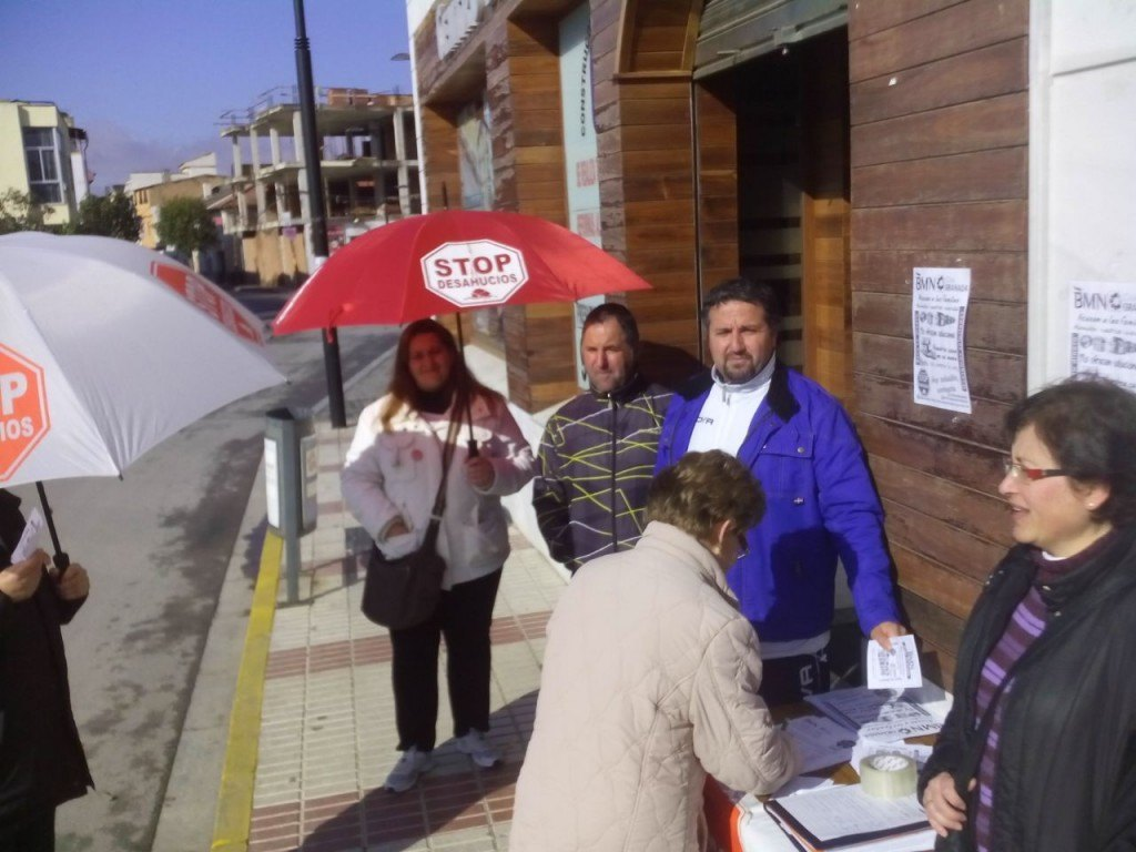 Campaña BMN Chauchina 4- Stop Desahucios Granada 15M