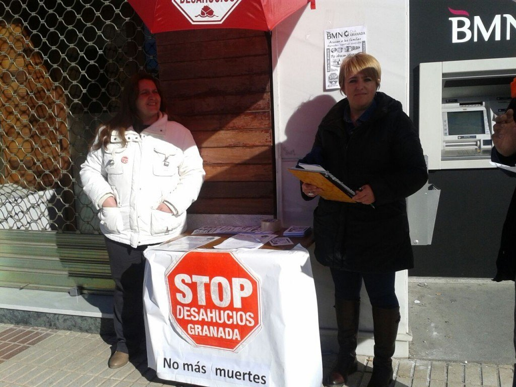 Campaña BMN Chauchina  - Stop Desahucios Granada 15M 5