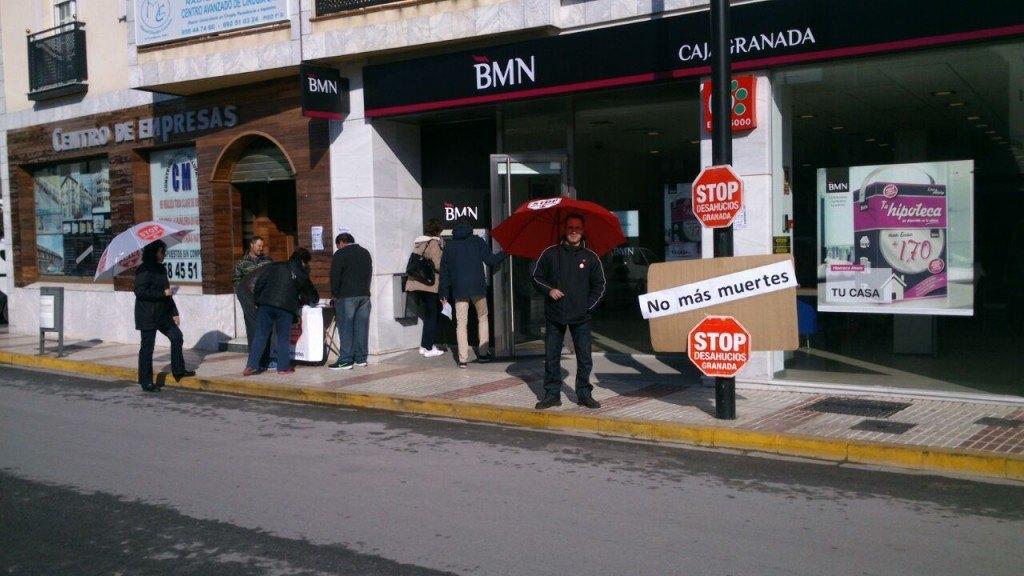 Campaña BMN Chauchina  - Stop Desahucios Granada 15M 6
