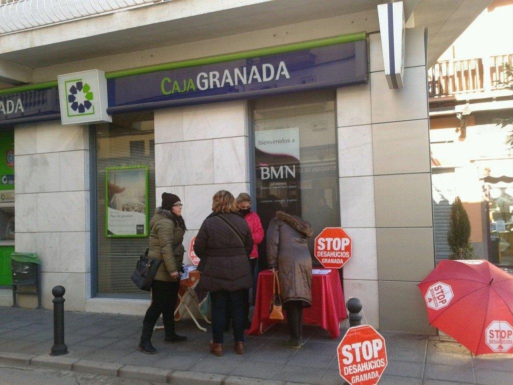 Campaña BMN Zubia- Stop Desahucios Granada 15M 1