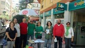 Stop Desahucios Granada 15M. Recogida de firmas