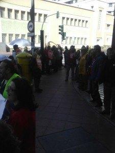 Stop Desahucios Granada 15M en Cajamar de Almería