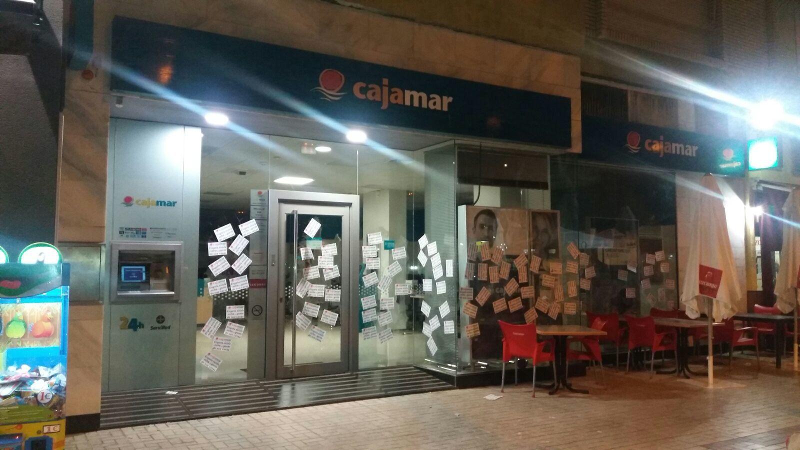 la solidaridad contra cajamar se extiende por m laga
