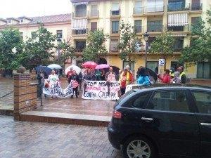 La marcha hacia Almería llega a Motril