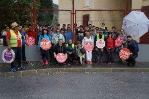 Solidaridad con las marchas de Alumnos de un insituto de Velez de Benaudalla