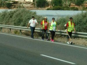 Stop Desahucios caminando hacia El Ejido