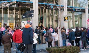 Stop Desahucios Granada en las puertas de la Caixa V
