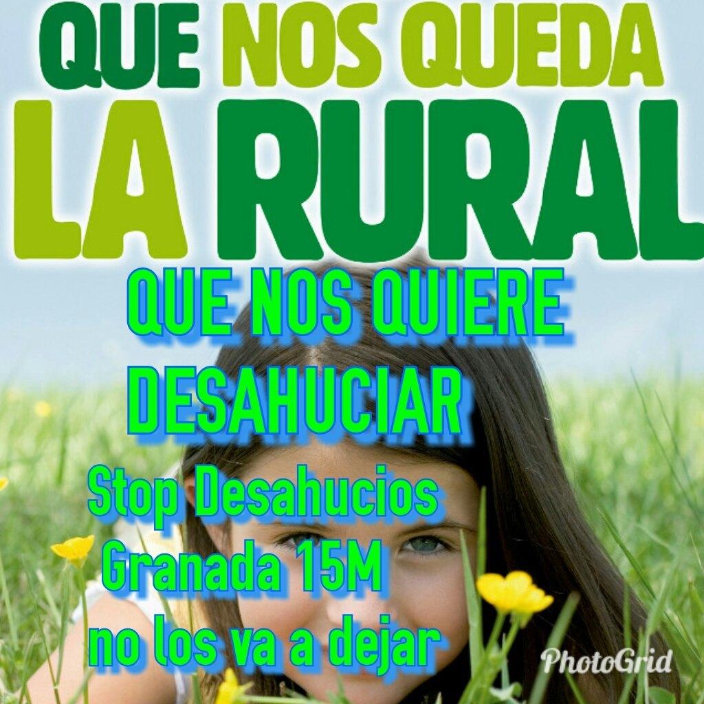 La Rrual deshucia. Stop Desahucios