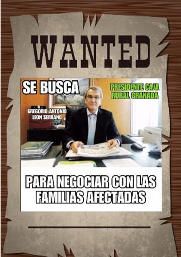 Se buscan. Caja Rural Granada