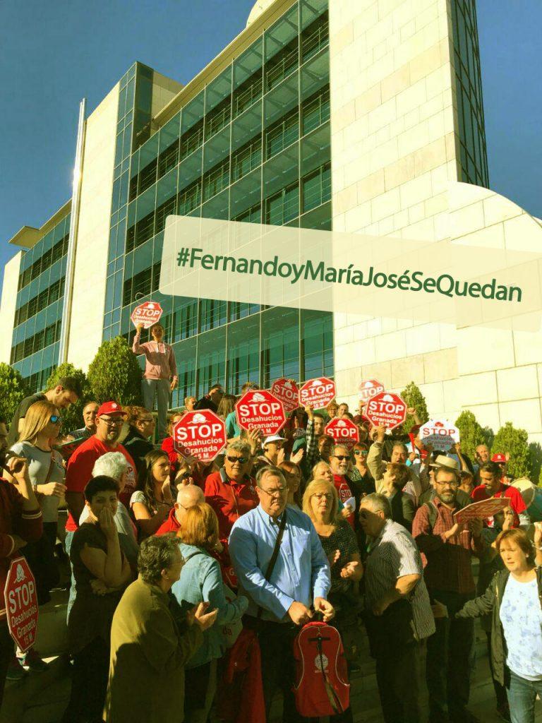 Stop Desahucios Granada 15M contra la Caja Rural Granada