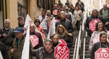 Nueva acción Stop Desahucios Granada 15M