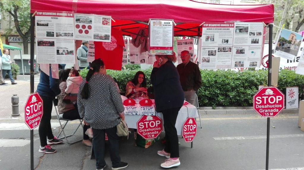 Stop Desahucios Granada 15M en haciendo barrio