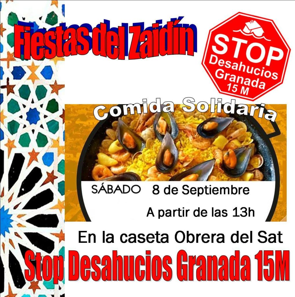 Comid Popular Stop Desahucios Granada 15M