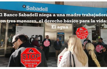 El Sabadell niega el agua a tres menores